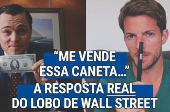 """Me Vende Essa Caneta"" — A Resposta REAL do Lobo de Wall Street"